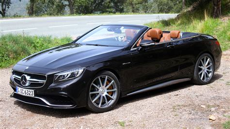 We analyze millions of used cars daily. First Drive: 2017 Mercedes-AMG S63 Cabriolet   Motor1.com