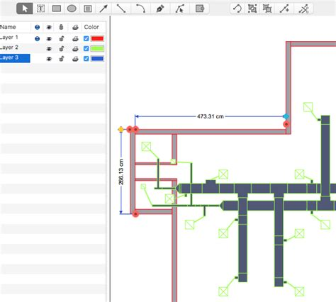 creating  hvac floor plan conceptdraw helpdesk