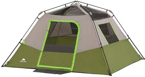 ozark trail 6 person instant cabin tent the ozark trail 6 person instant cabin tent is average