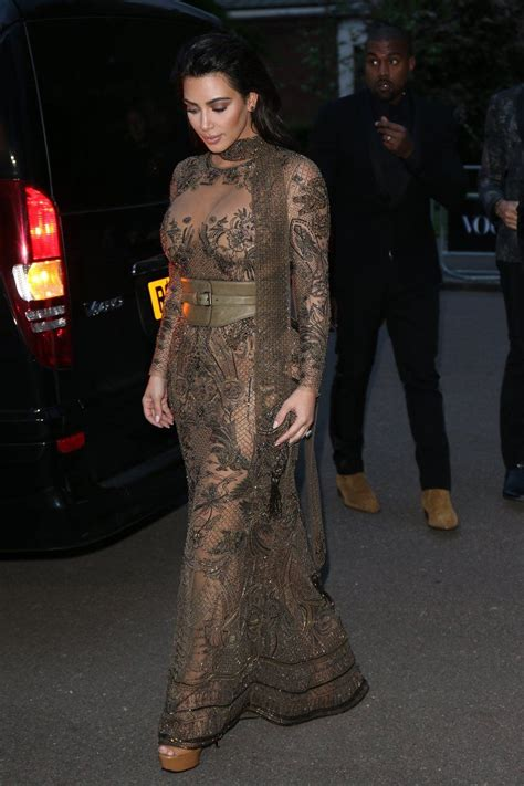 Kim Kardashian Leaves Little to the Imagination During a ...