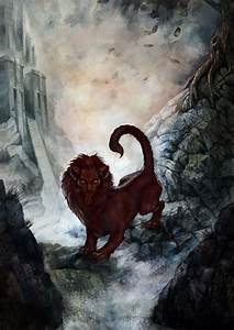 The Manticore by depingo.deviantart.com on @deviantART ...