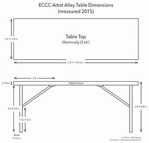 ECCC Artist Alley Table Dimensions Station In The Metro