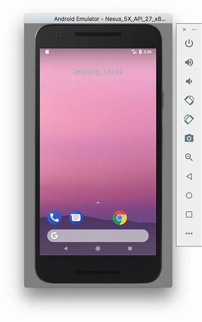 Android Emulator Ios Simulator Nexus 5x Mac