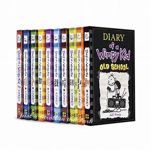 Diary Of A Wimpy Kid Complete Series Hardcover Books 1 10