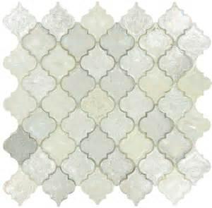 moroccan tiles kitchen backsplash arabesque silver glass arabesque tile glossy iridescent