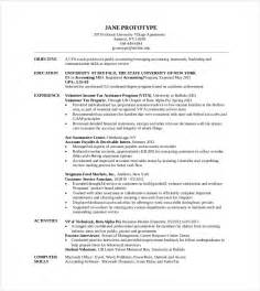 Mba On Resume by Mba Resume Template 11 Free Sles Exles Format