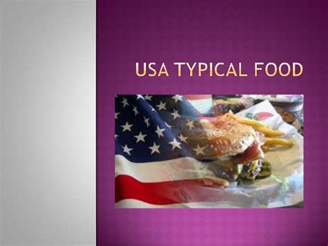 cuisine usa usa typical food