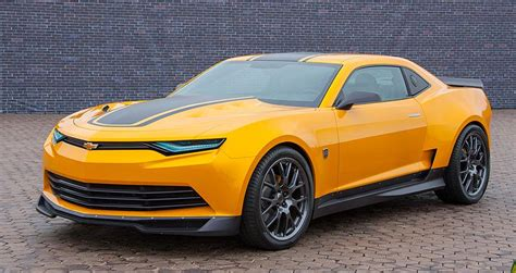 Bumblebee Camaro Shows Off Gm's Design Muscle In