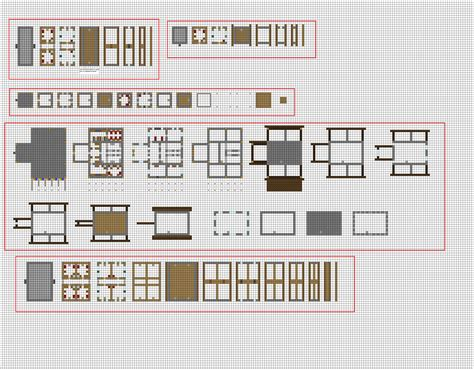 minecraft survival house floor plans more generic buildings wip by coltcoyote deviantart on