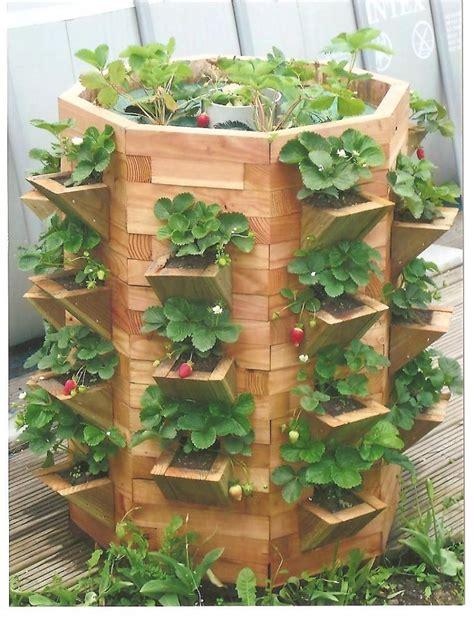 tour a fraisiers en bois et pyramide de fraise comment fabriquer une tour a fraisiers