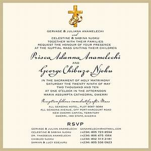 samples of wedding invitation cards wordings in nigeria With samples of wedding invitation cards wordings in nigeria