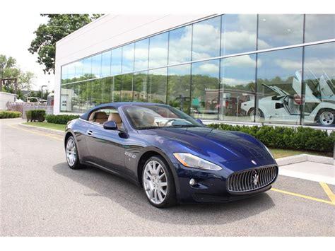 2012 Maserati Gt Convertible For Sale
