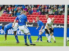 Rosenborg 0 St Johnstone 1 match report Wright goal