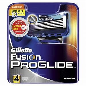 Bargain Gillette Fusion Proglide Manual Razor Blades Pack
