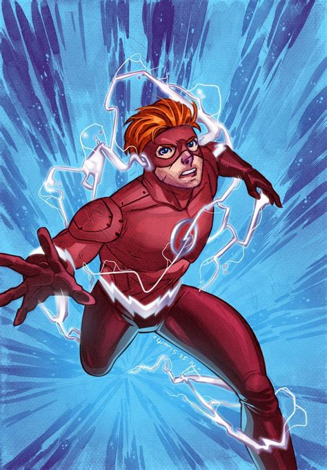 Wally West Wallpapers - Wallpaper Cave