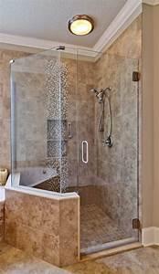 Salle De Bain En L : carrelage travertin salle de bain et comment le choisir pour plus de confort ~ Melissatoandfro.com Idées de Décoration