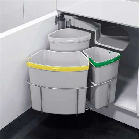 poubelle de cuisine encastrable les 25 meilleures idées de la catégorie poubelle tri sur