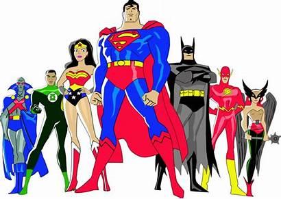 Justice League Clipart Superheroes Transparent America Background