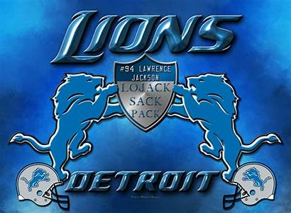 Detroit Lions Jackson Lawrence Sack Lojack Pack