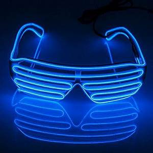 Fronnor Blinking Party decorative LED Glasses El Wire