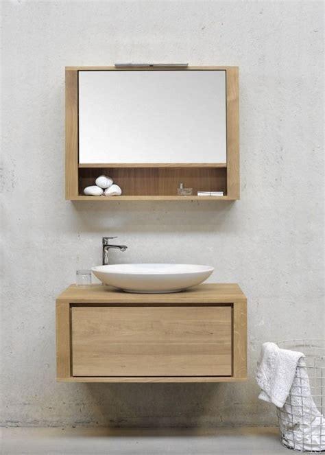 Badezimmer Spiegelschrank Mit Regal by Spiegelschrank Mit Regal Aus Eichenholz Aufsatzbecken