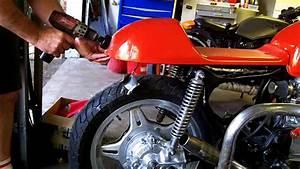 Honda Cx500 Cafe Racer    1 99 Tail  Brake Light Install
