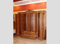 #502 Fivedoor Wardrobe in Teak wood China Mainland
