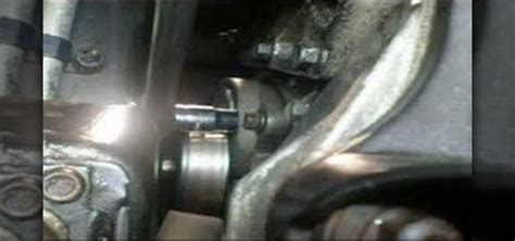 How To Remove The Serpentine Belt Tensioner In A Saturn