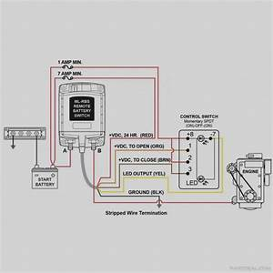 Boat Wiring Diagram Single Battery