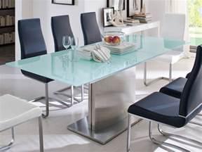 esszimmer glastisch esszimmer glastisch ausziehbar inspiration design familie traumhaus