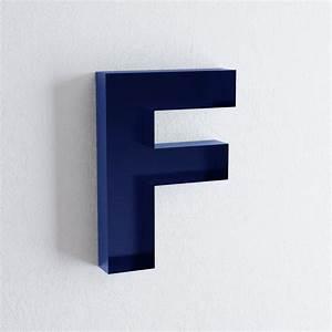 Nursery wall letters f letter art decor