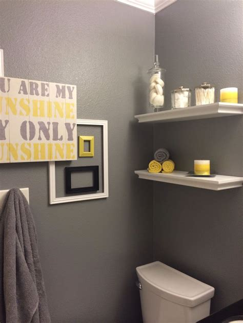 gray and yellow bathroom ideas yellow and grey bathroom ideas for my home