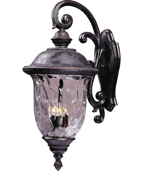 maxim lighting 40498 carriage house vx 3 light outdoor