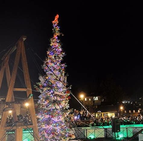 historic folsom christmas tree lighting ceremony friday
