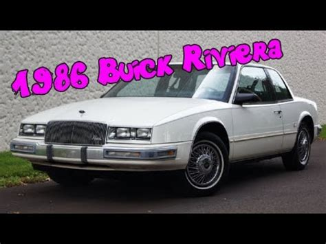 security system 1990 buick riviera navigation system 1986 buick riviera coupe with factory touch screen digital display only 33k miles youtube