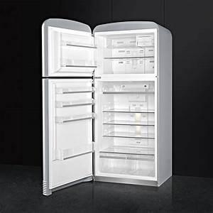 Retro Kühlschrank Linksanschlag : smeg fab50lsv k hl gefrier kombination polarsilber ~ Watch28wear.com Haus und Dekorationen