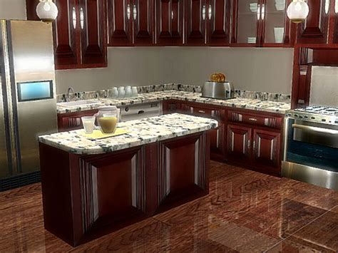 Mod The Sims  The 3000 Edition Kitchen Collection