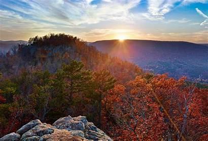 Arkansas Ozarks Throne Sunset Sam Sams Featured