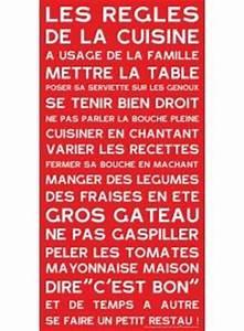 Affiche Les Regles De La Maison : 1000 images about phrases cuisine on pinterest cuisine chefs and kitchen prints ~ Melissatoandfro.com Idées de Décoration