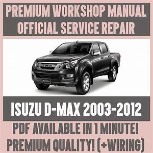 Workshop Manual Service  U0026 Repair Guide For Isuzu D