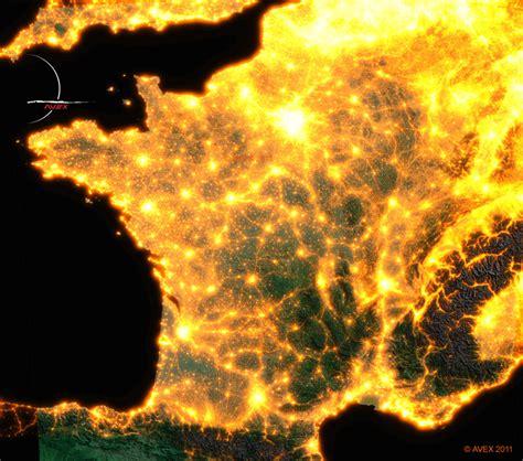 Carte Pollution Lumineuse Info by Envie D Agir Contre La Pollution Lumineuse Anciela