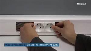 Plinthe Avec Prise : moulure et goulotte legrand comment installer des prises ~ Edinachiropracticcenter.com Idées de Décoration