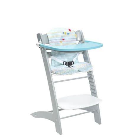 chaise évolutive badabulle badabulle chaise haute évolutive bleu et gris pas cher