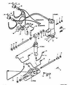 Force 125 Hp  1989  Power Trim Unit Parts