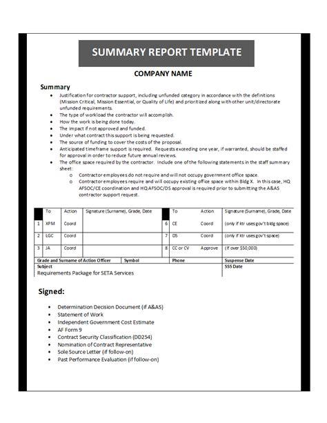 printable report templates