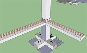 Schematic Diagram Of The Foundation  Column With The