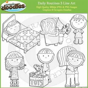Daily Routines Bundle U2013 Scrappin Doodles