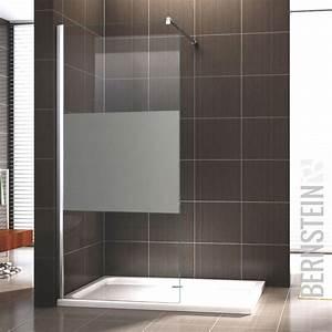 Duschwand Glas Walk In : walk in dusche duschabtrennung duschwand duschtrennwand nano glas teilsatiniert ebay ~ A.2002-acura-tl-radio.info Haus und Dekorationen