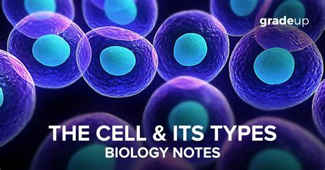 Biology Notes :Cell & its types