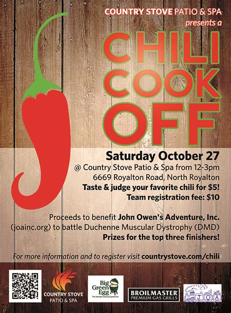 Chili Cook-Off Flyer